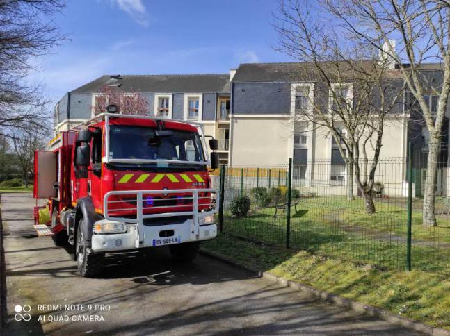 Entraînement des pompiers